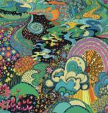 Windham Paradiso Xanadu Midnight by Windham Fabrics
