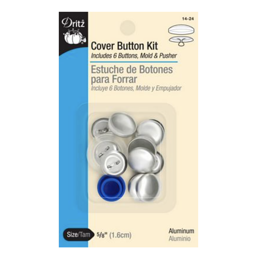 """Dritz Covered Button Kit 5/8"""""""