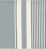 "Moda 18"" Lakeside Toweling Silver and Black Stripe"