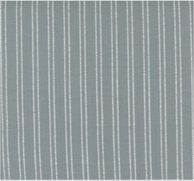 "Moda 18"" Lakeside Toweling Silver with White Stripe"