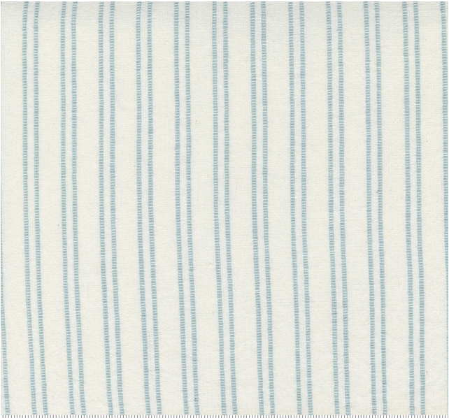 Moda Lakeside Toweling Off White with Storm Blue Stripes