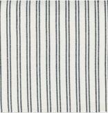 Moda Lakeside Toweling Off White with Black Stripes