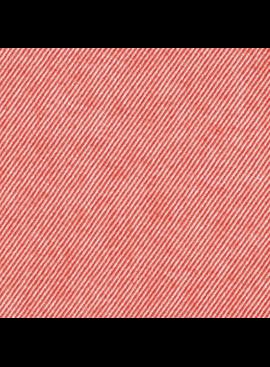 Robert Kaufman Seawool Twill Red