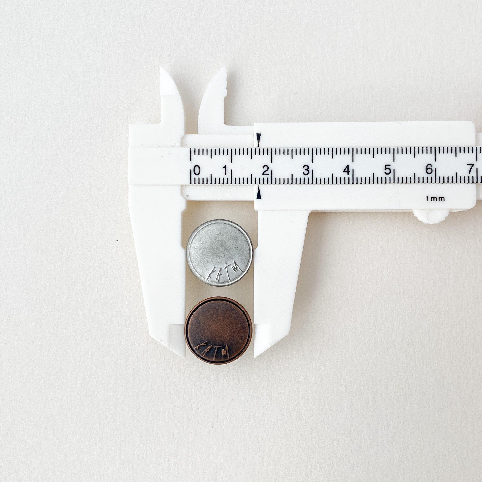 Kylie and the Machine Kylie and the Machine Dungaree Overalls Hardware Kit - Copper