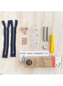 Kylie and the Machine Kylie and the Machine Jeans Hardware Kit - Copper
