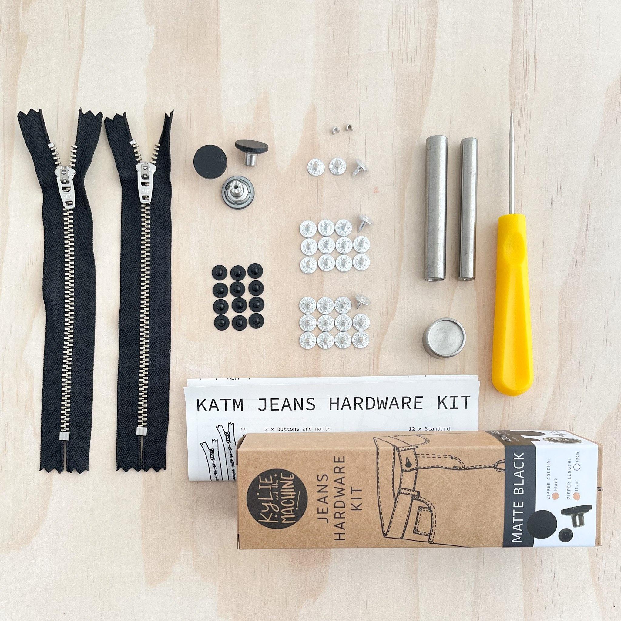 Kylie and the Machine Kylie and the Machine Jeans Hardware Kit - Black