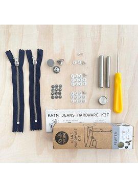 Kylie and the Machine Kylie and the Machine Jeans Hardware Kit - Pewter