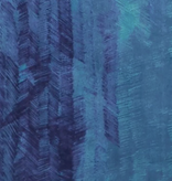 Kokka Nani Iro Double Gauze Blue with Blue/Teal Dashes