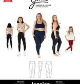 Jalie Jessica Leggings With Side Pocket Pattern by Jalie