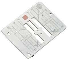 BERNINA Bernina Stitch Plate for Cutwork / Straight Stitch for 9mm Machines (NG 480 570 590 / 7 Series)