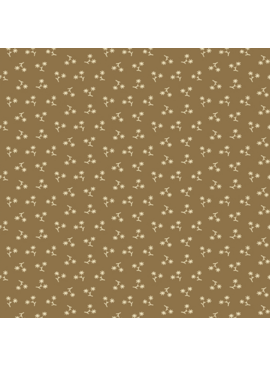 Andover Belle Rose by Andover Fabrics Fawn Star Flower