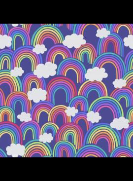 Lewis & Irene Lewis & Irene All Over Rainbow Blue