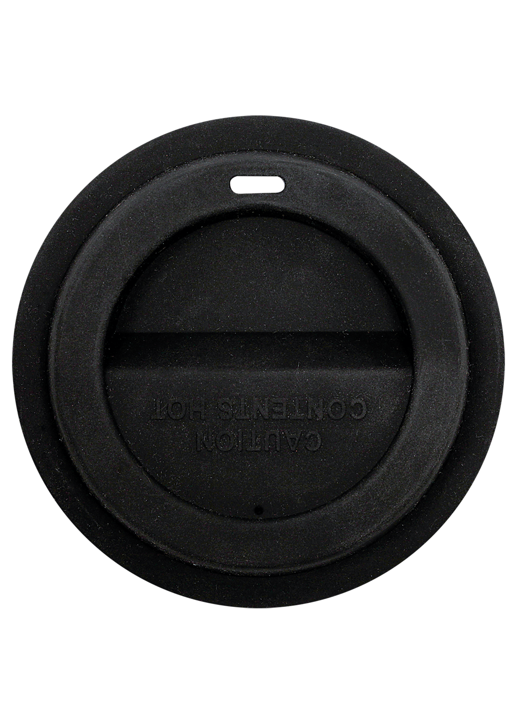 BLK SILICONE LATTE MG LID
