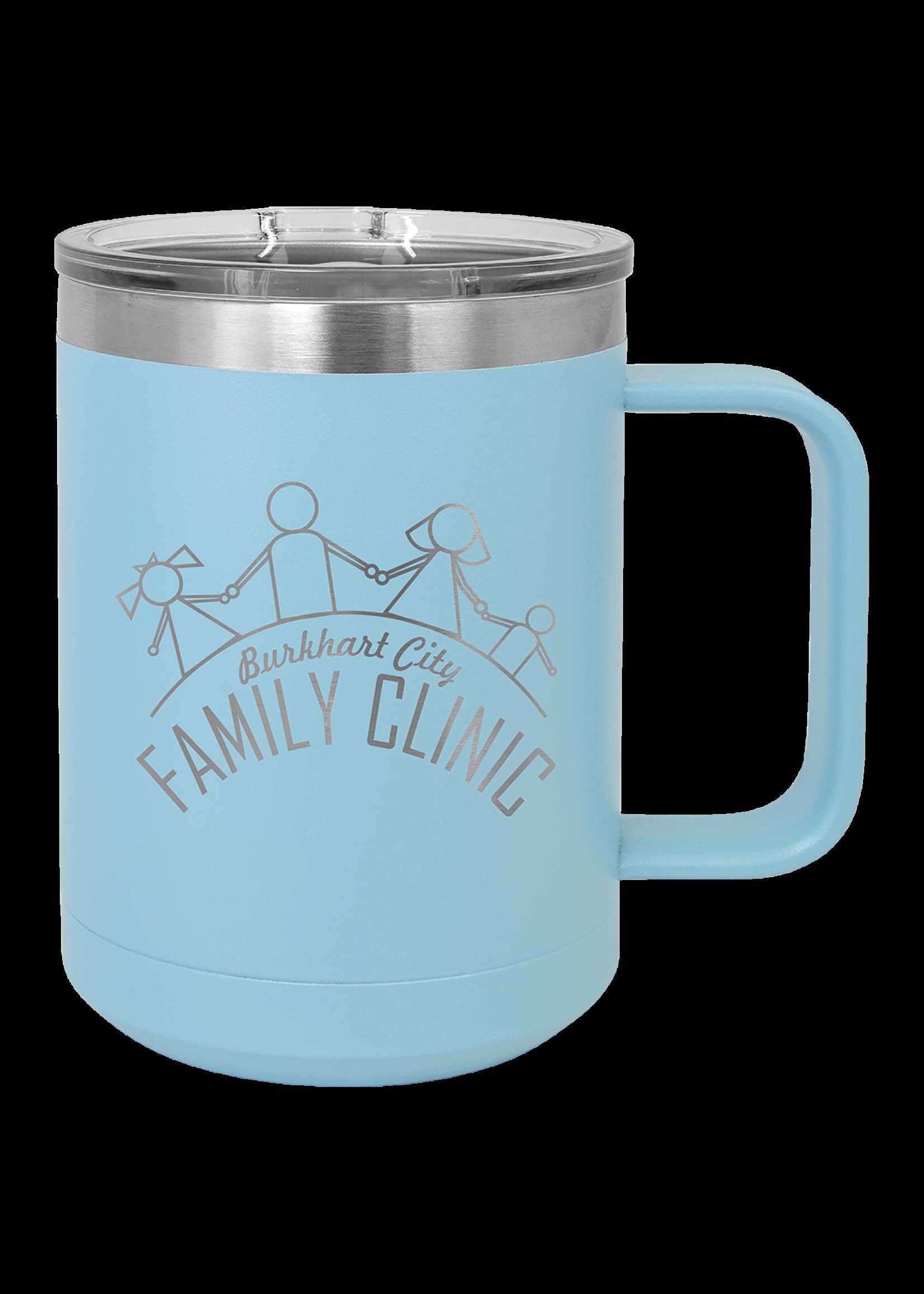 Polar Camel 15 oz Stainless Steel Mug