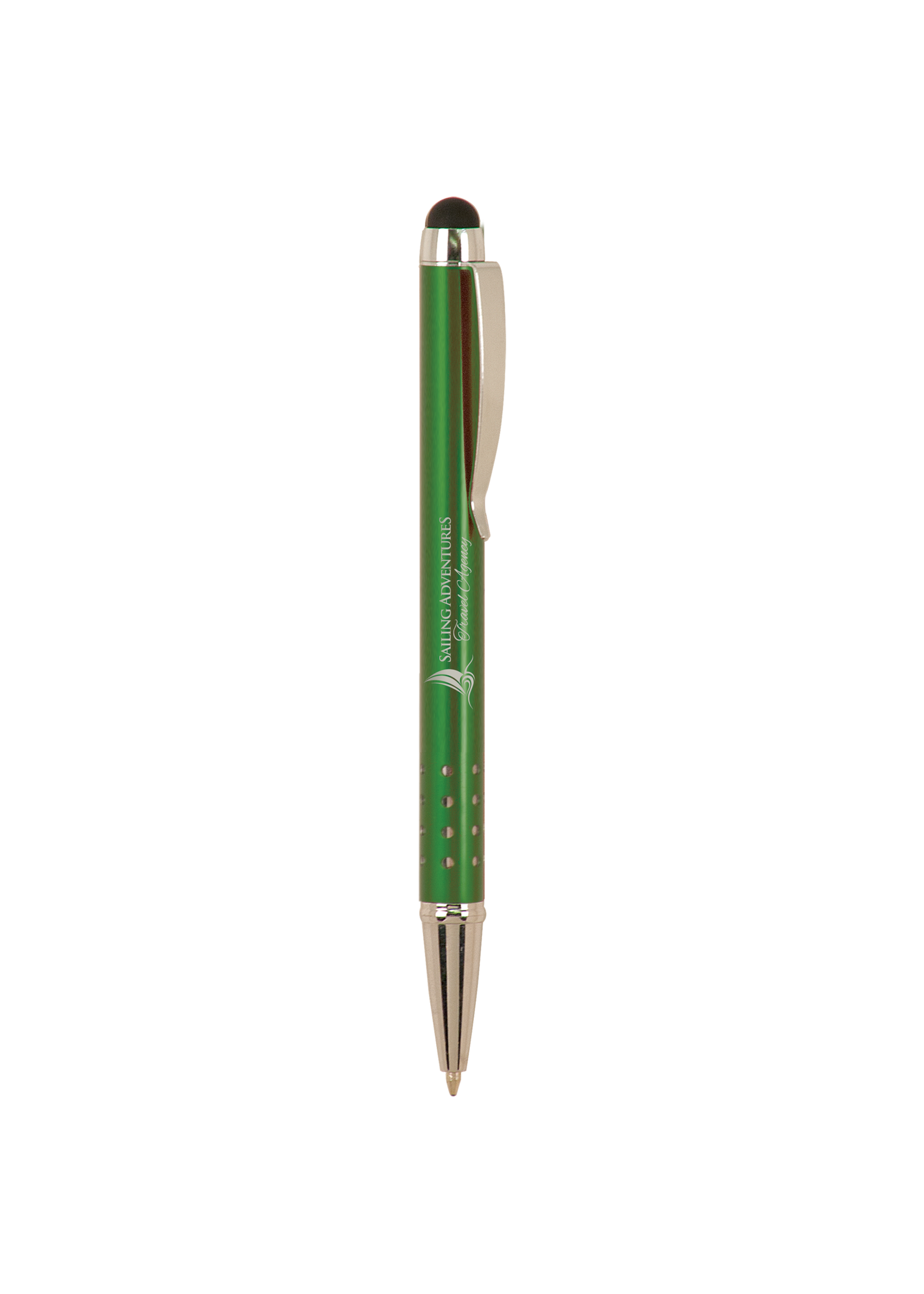 Laserable Pen with Stylus