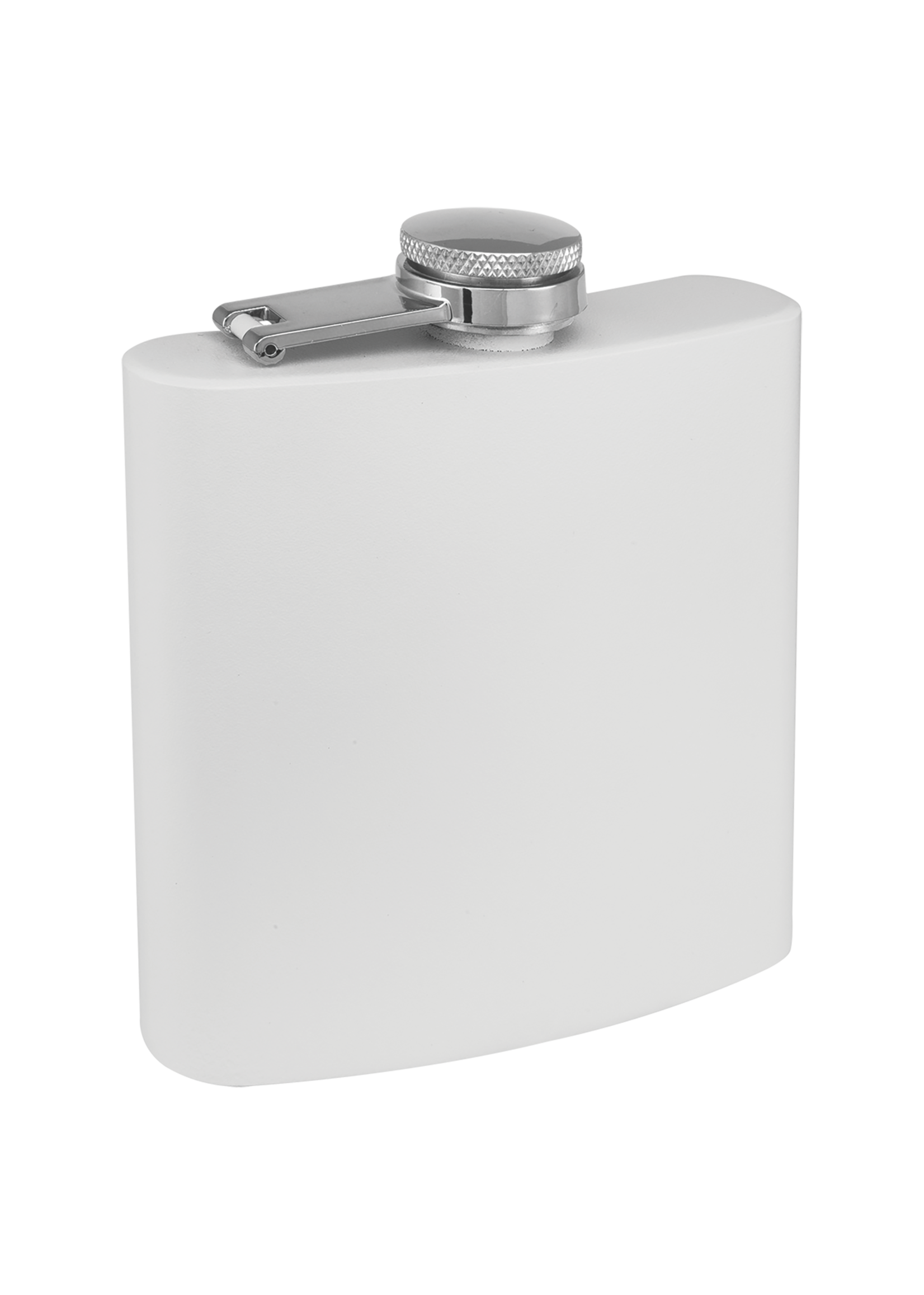 6 oz Flask Powder Coated
