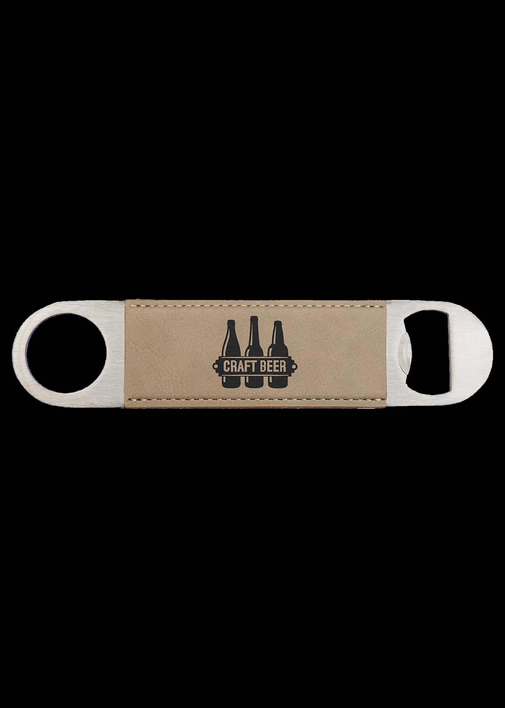 1.5x7 Leatherette Bottle Opener