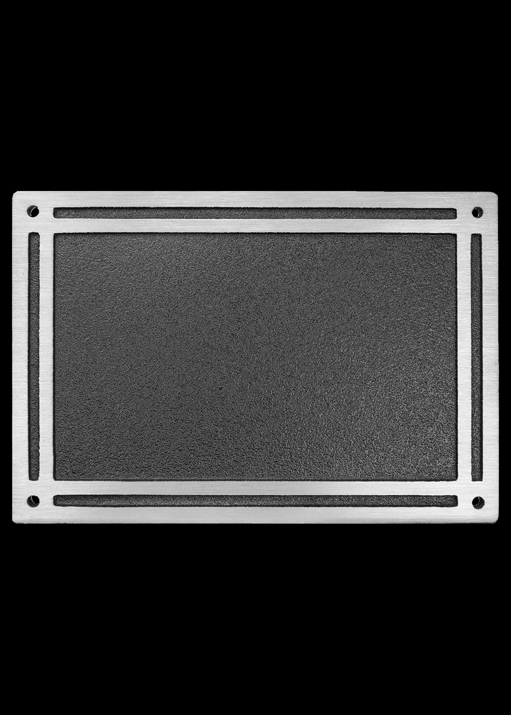 Cast Aluminum Plaques with Monting Screws