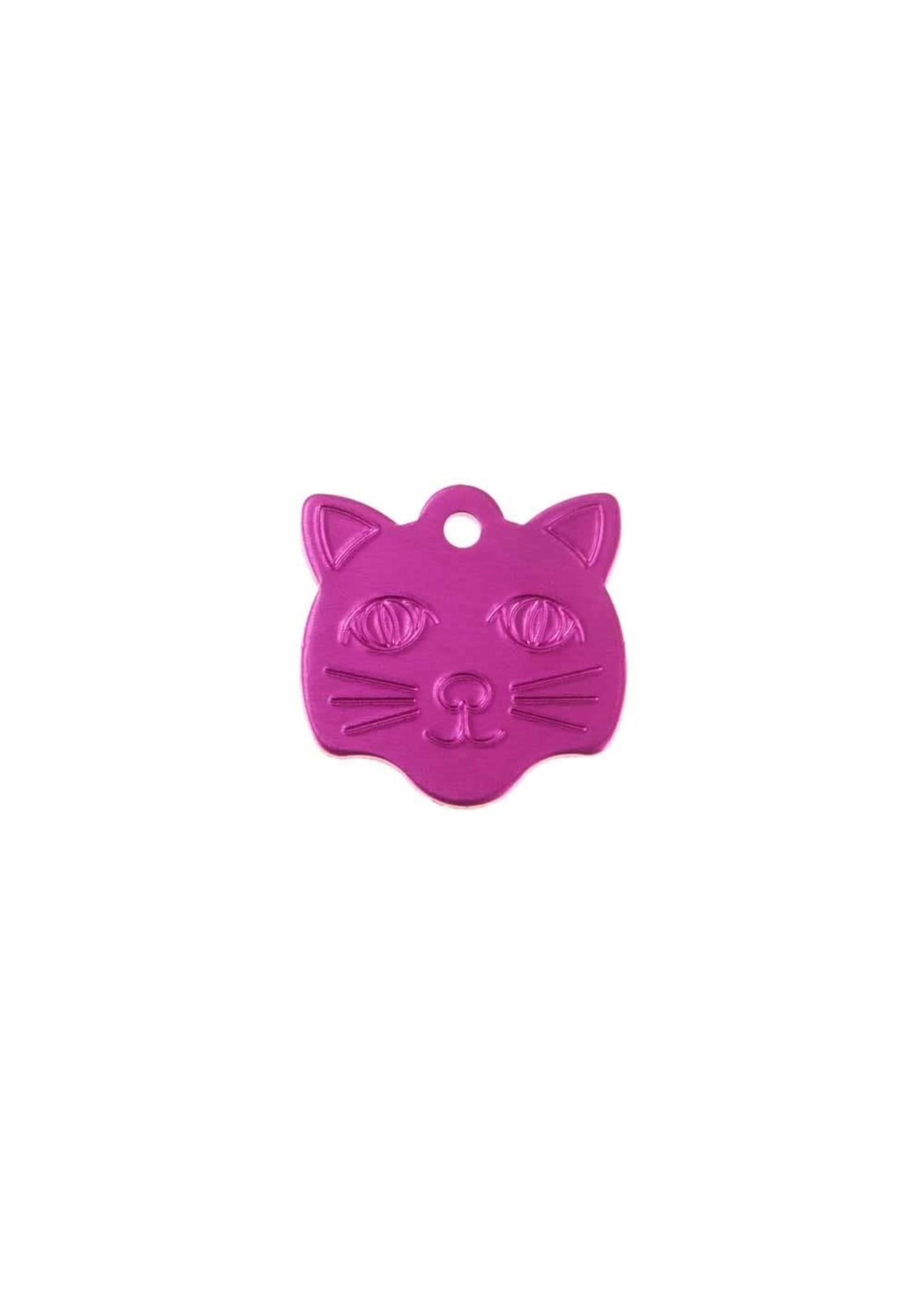 Cat Shape Pet Tag