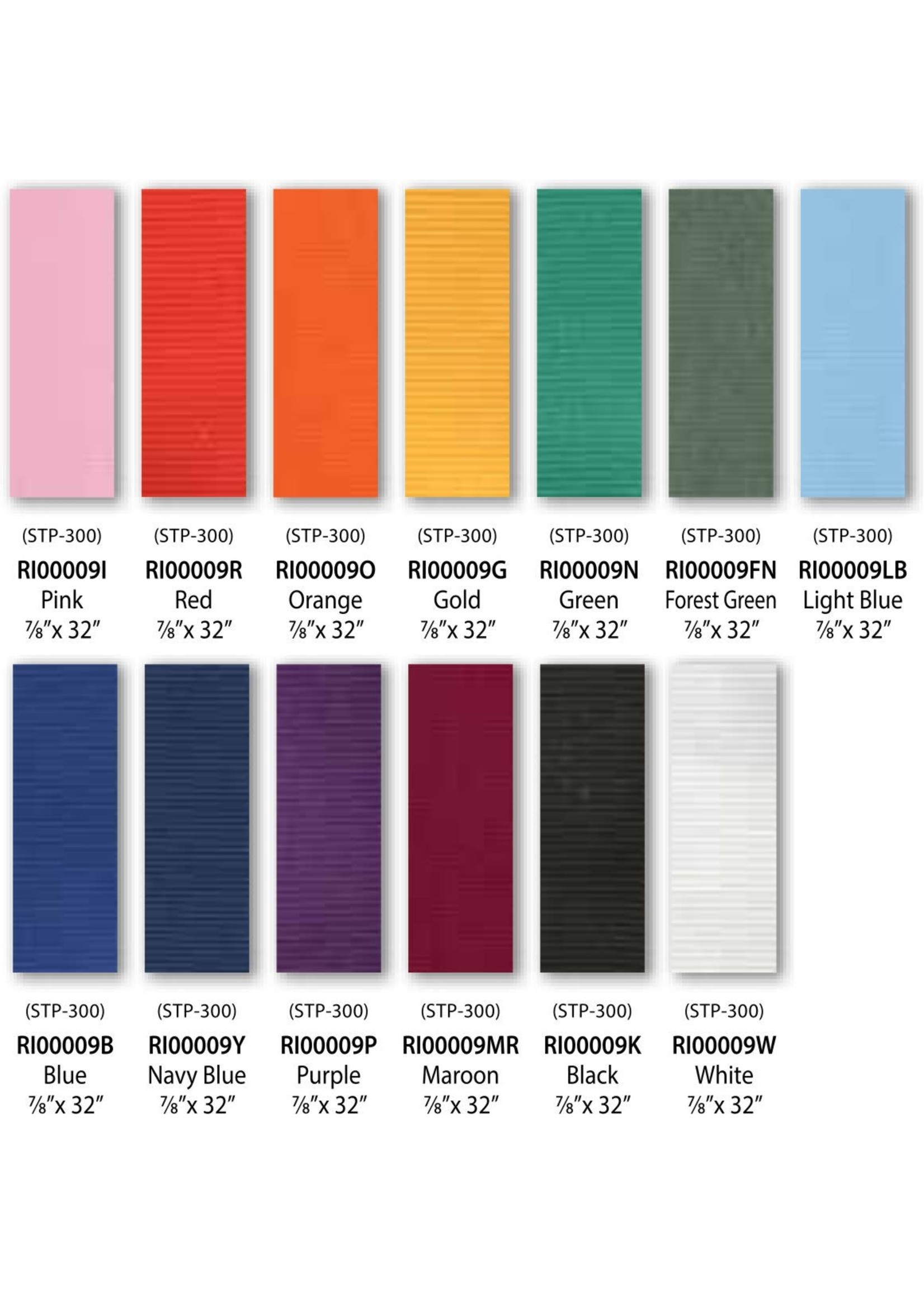 Neck Ribbons Solid Colours