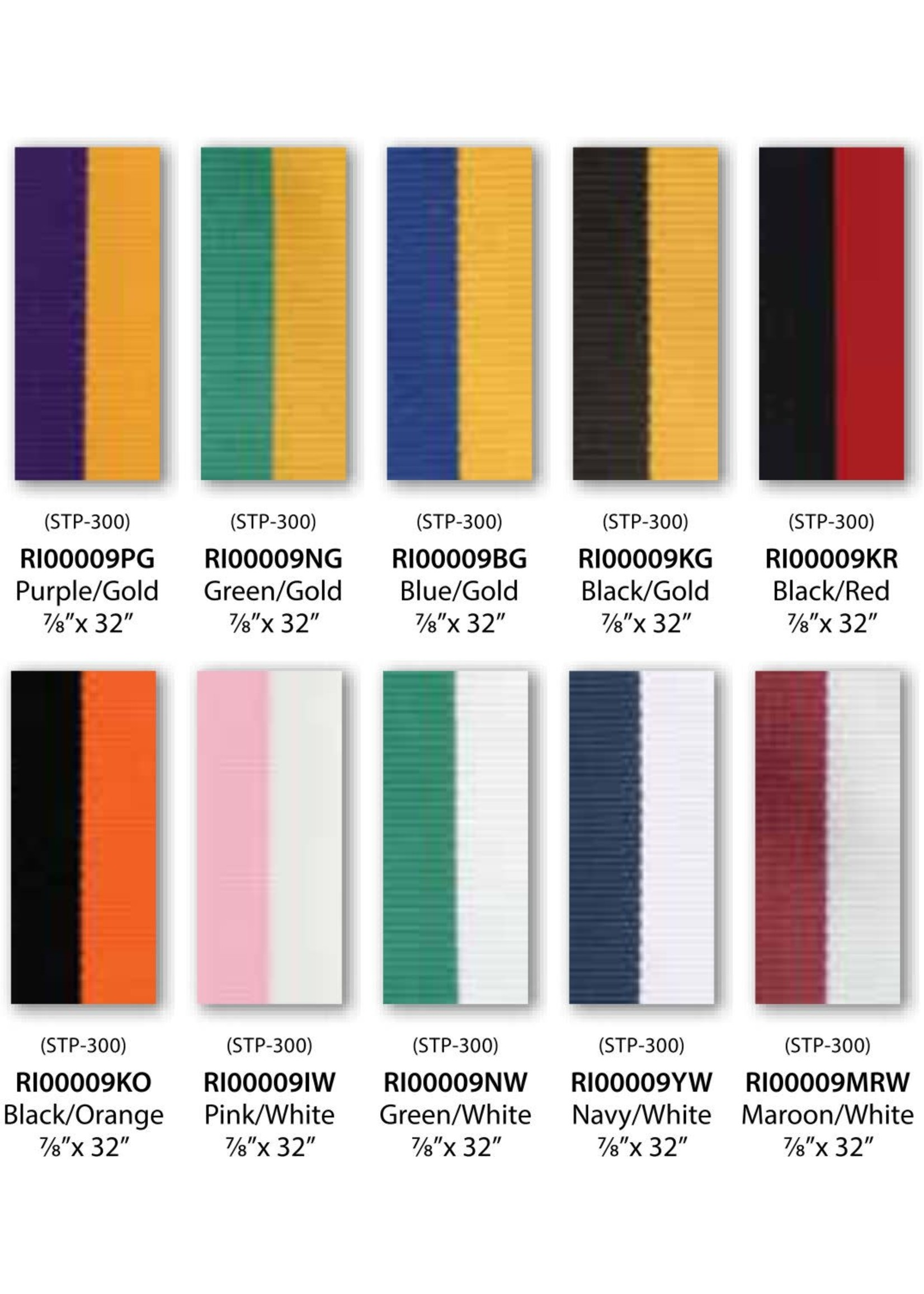Neck Ribbons Two Colour