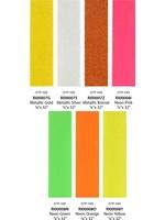 Neck Ribbons Metallic/Neon