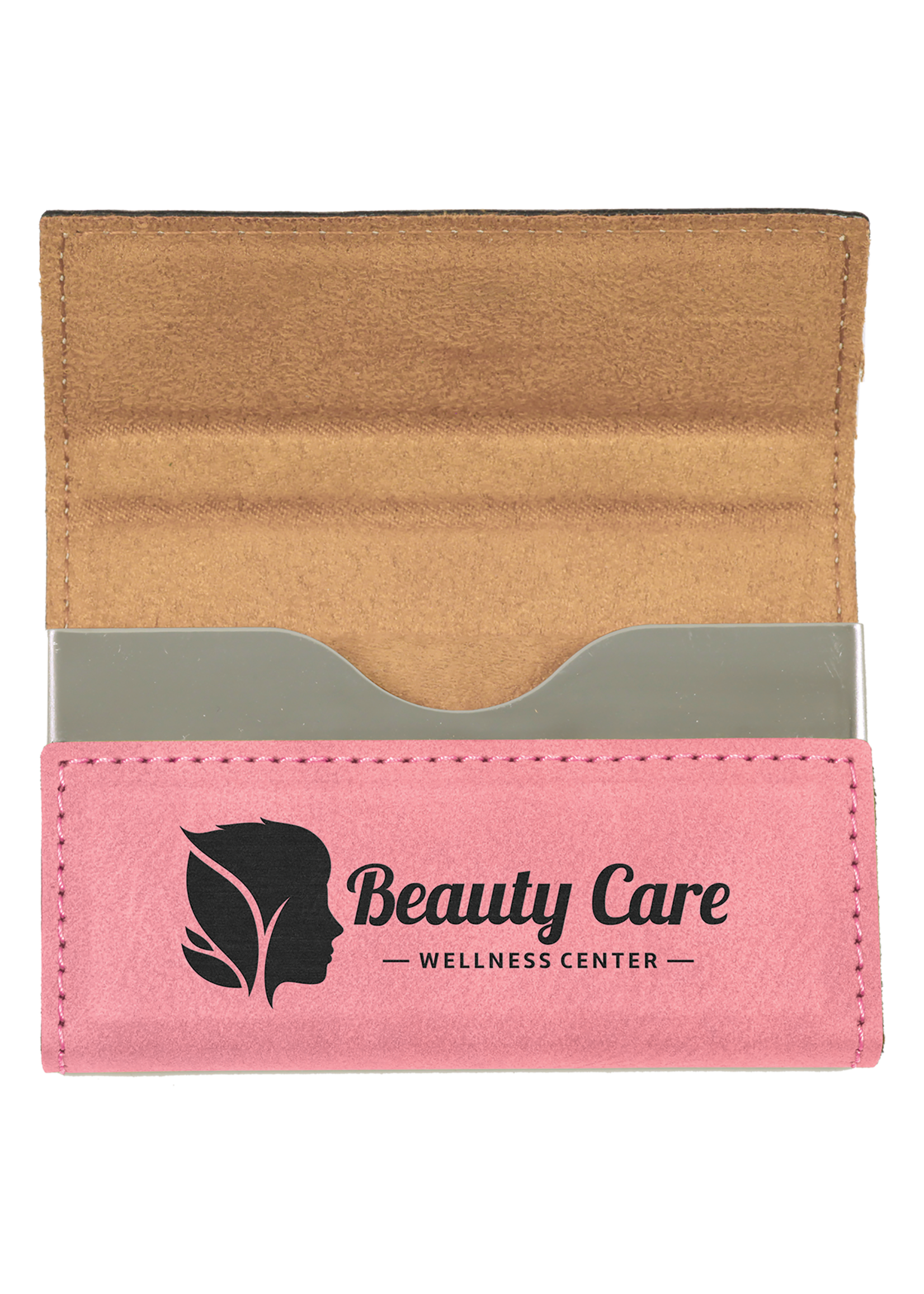 Leatherette Business Card Holder Hard
