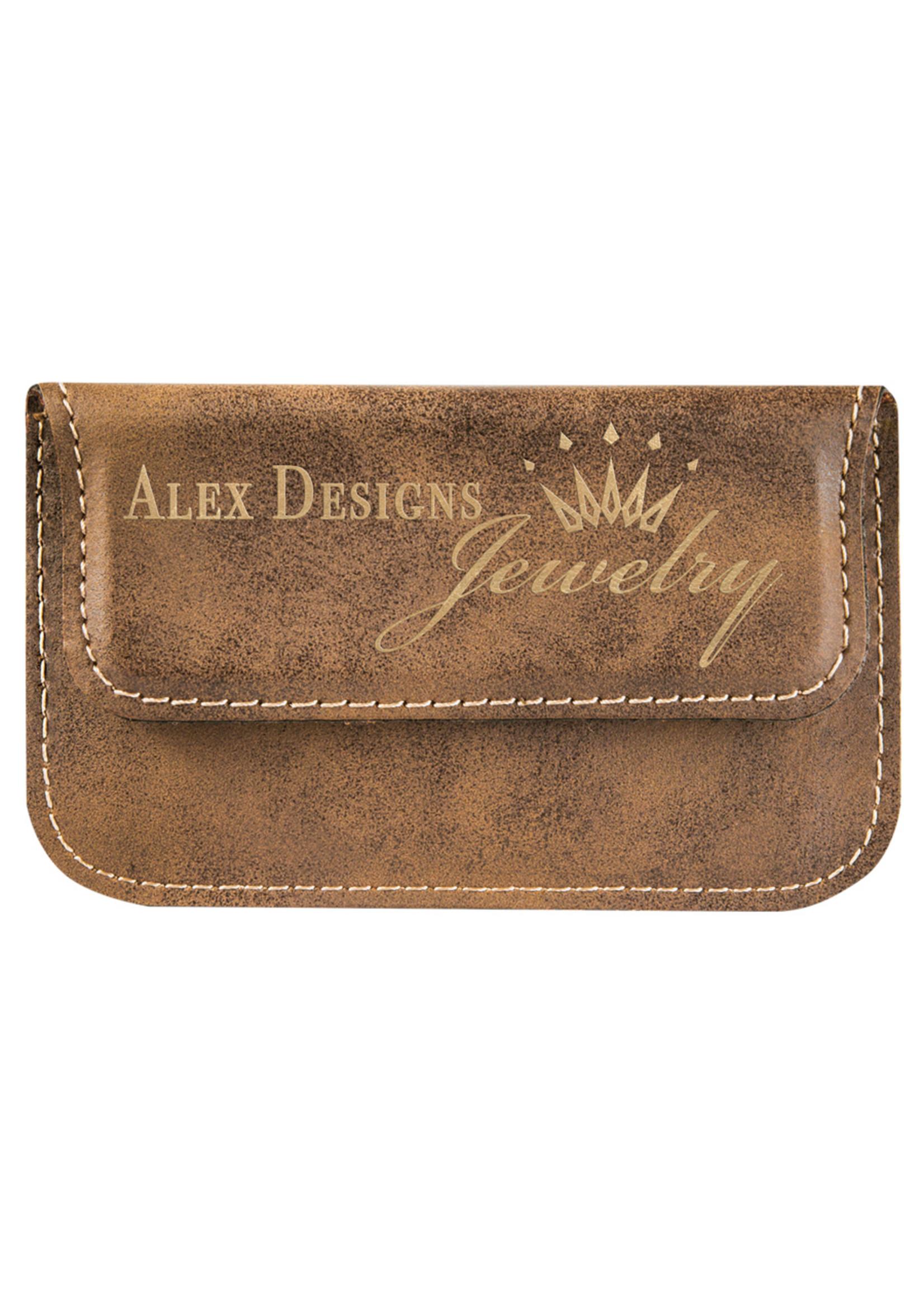 Leatherette Business Card Holder Soft