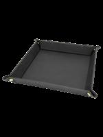 "230mmx230mm (9""X9"") Laserable Leatherette Folding Tray"