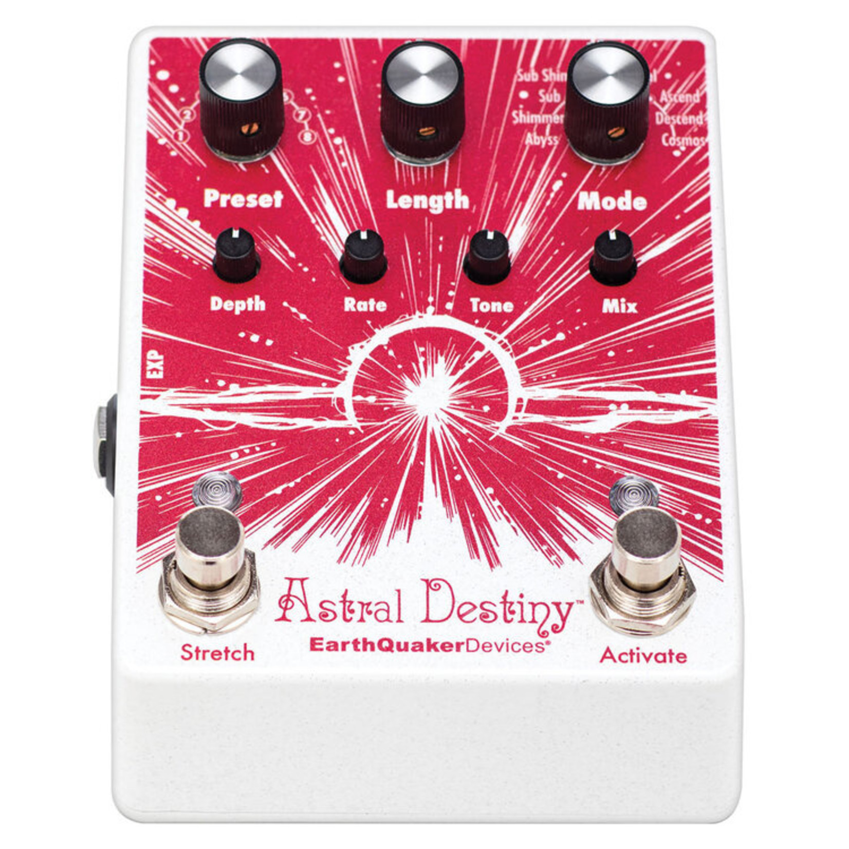 Earthquaker Devices EarthQuaker Devices Astral Destiny Octal Octave Reverberation Odyssey