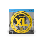D'Addario D'Addario EXL125 Nickel Wound Electric Guitar Strings Super Light Top/ Regular Bottom 9-46