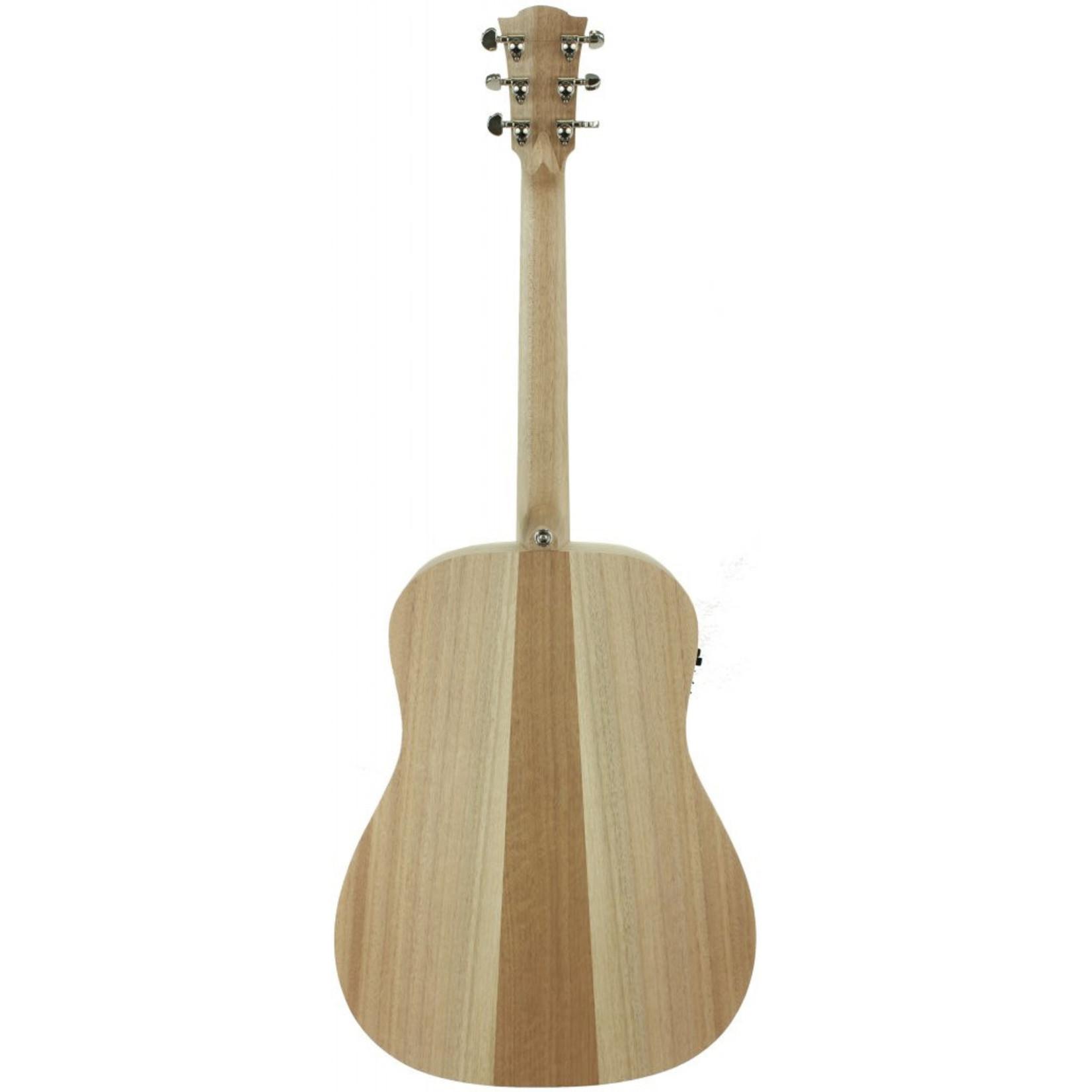 Cole Clark Cole Clark Fat Lady 1 Series FL1E-BM acoustic electric guitar with gig bag