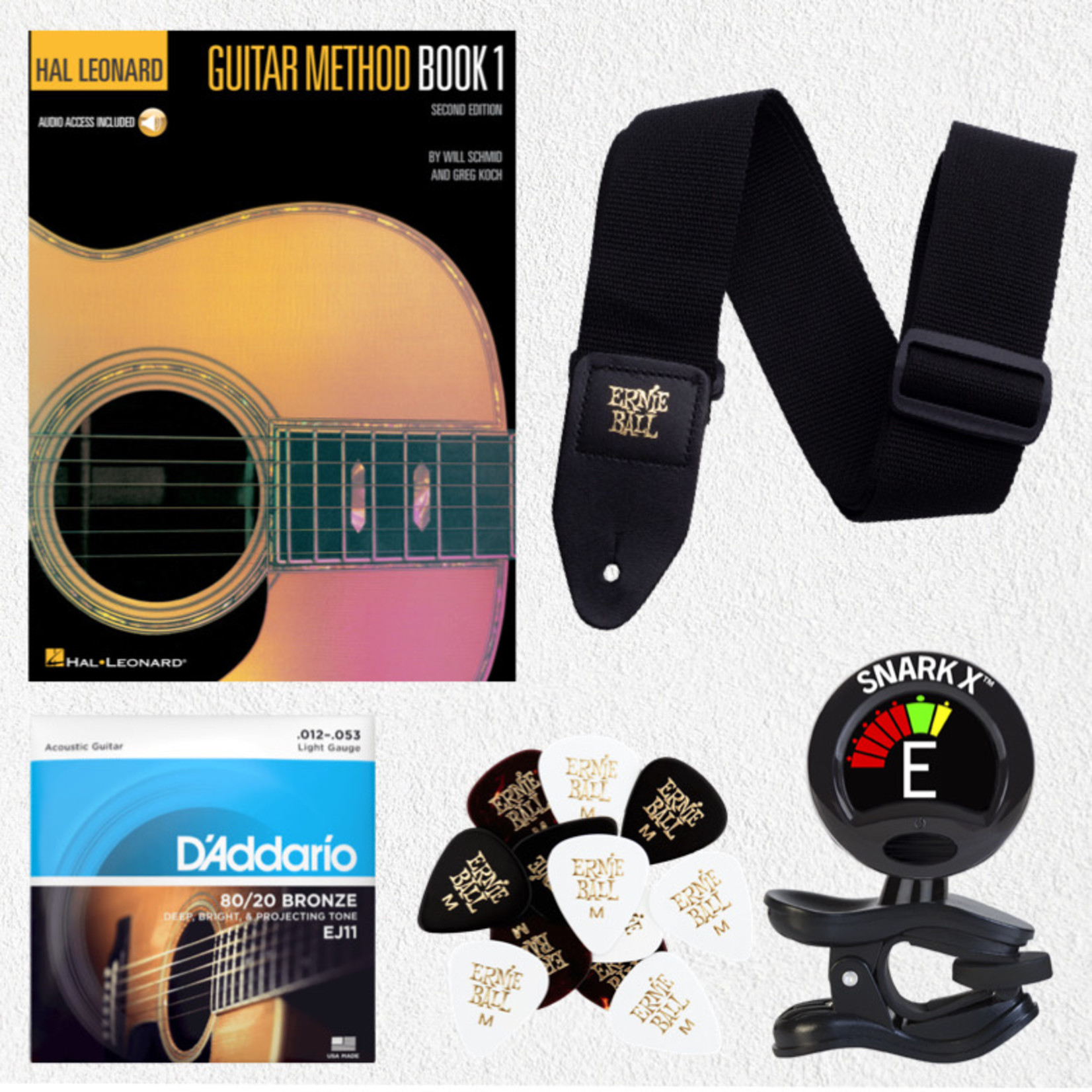 Guitar Class Accessory Kit - Book 1