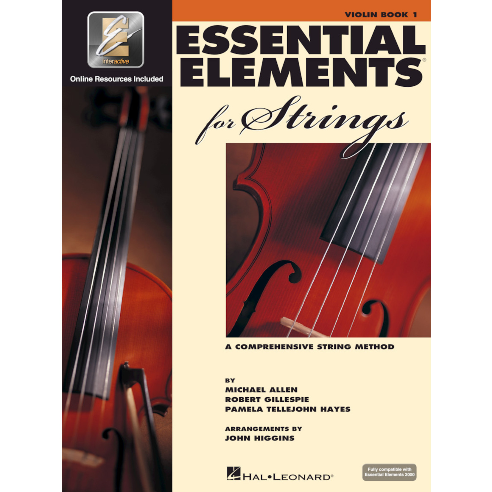 Hal Leonard Essential Elements for Strings Violin Book 1