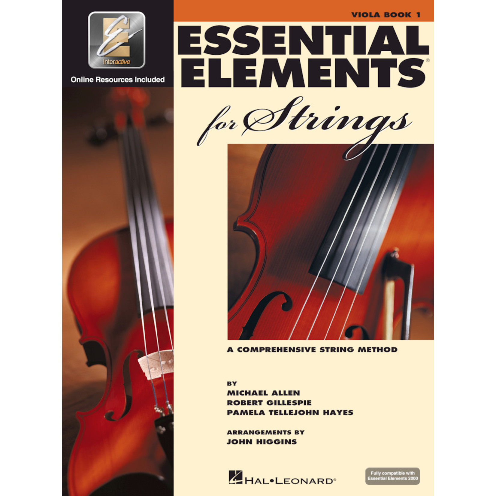 Hal Leonard Essential Elements for Strings Viola Book 1
