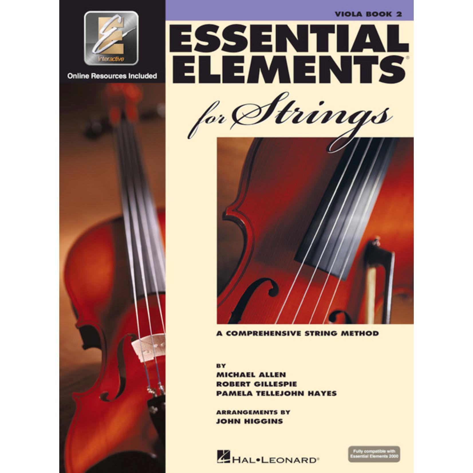 Hal Leonard Essential Elements for Strings Viola Book 2