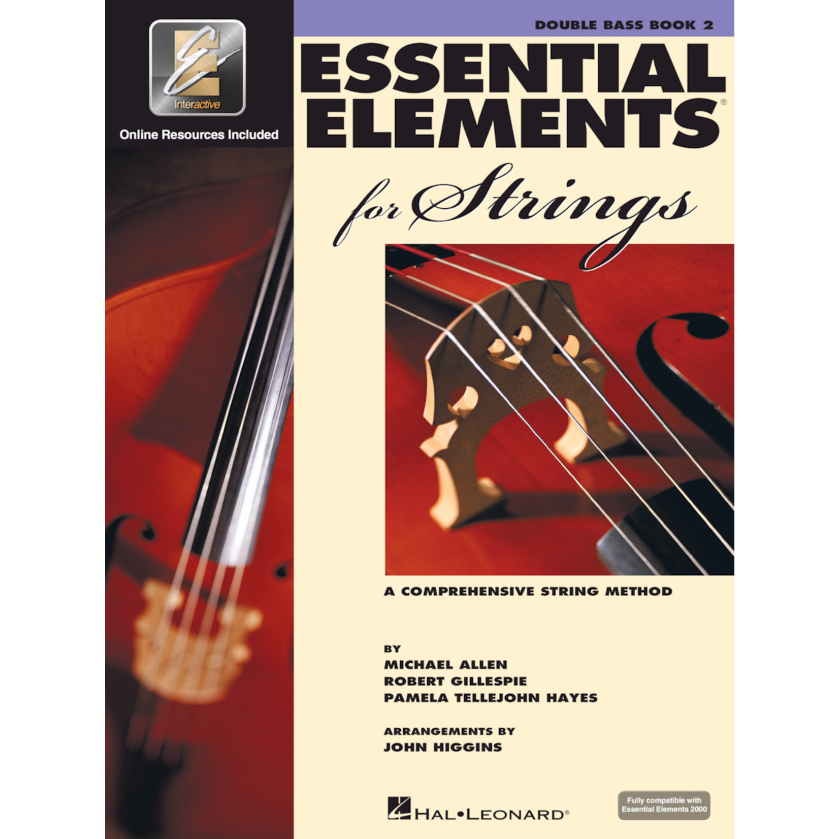 Hal Leonard Essential Elements for Strings Double Bass Book 2