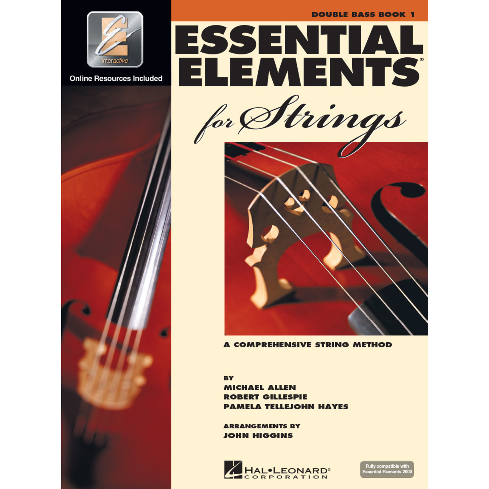 Hal Leonard Essential Elements for Strings Double Bass Book 1