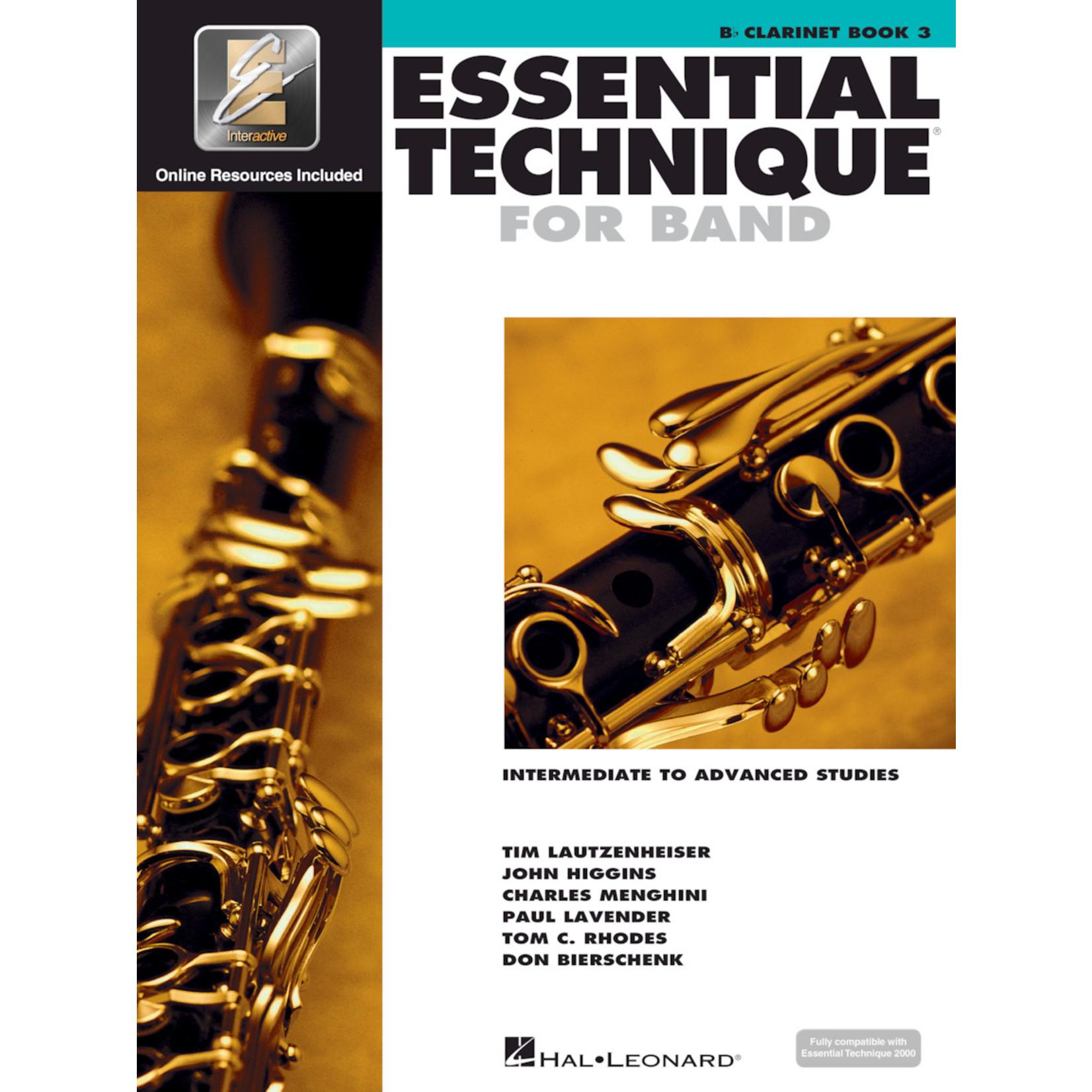 Hal Leonard Essential Technique for Band Clarinet Book 3
