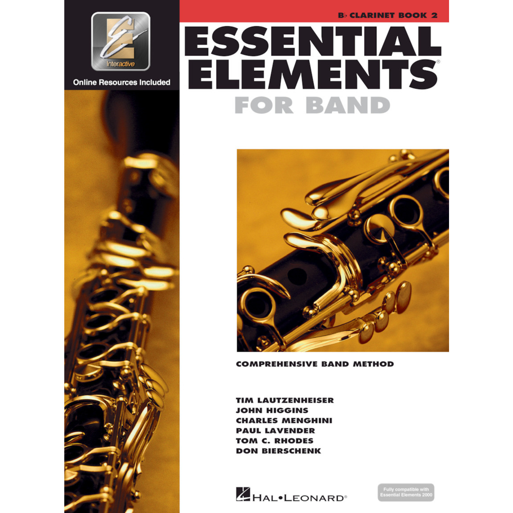 Hal Leonard Essential Elements for Band Clarinet Book 2