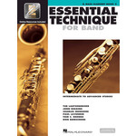 Hal Leonard Essential Technique for Band Bass Clarinet Book 3