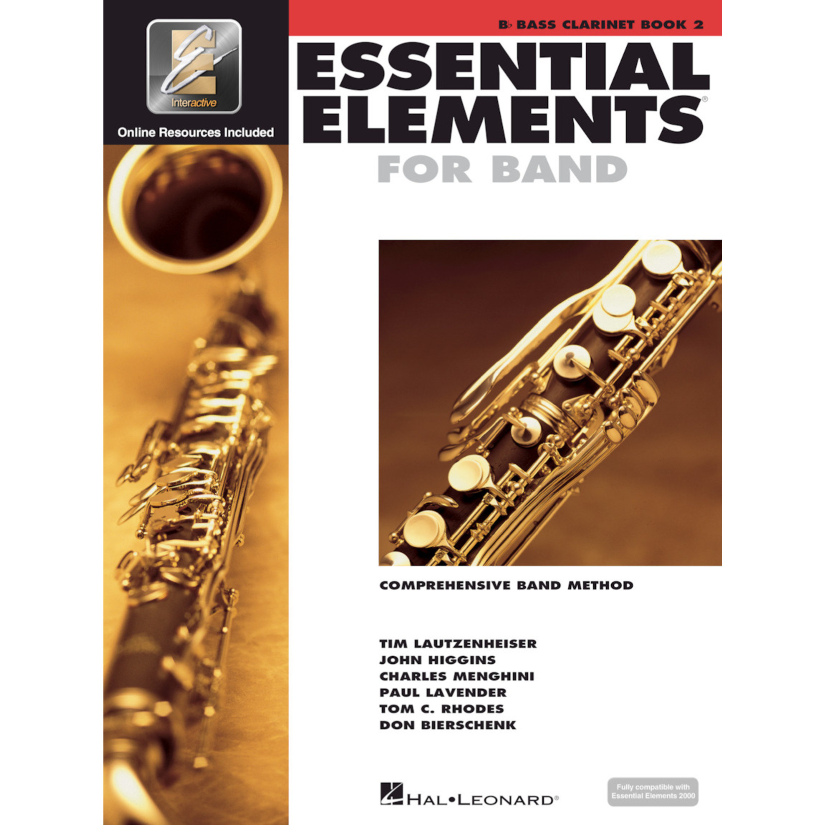 Hal Leonard Essential Elements for Band Bass Clarinet Book 2