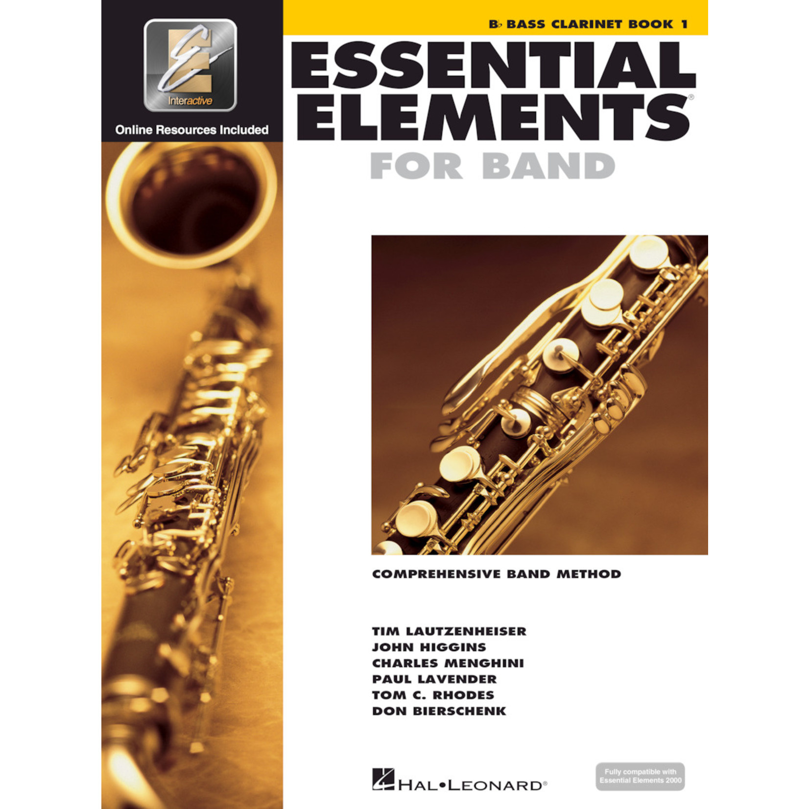 Hal Leonard Essential Elements for Band Bass Clarinet Book 1