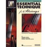 Hal Leonard Essential Technique for Strings Violin Book 3