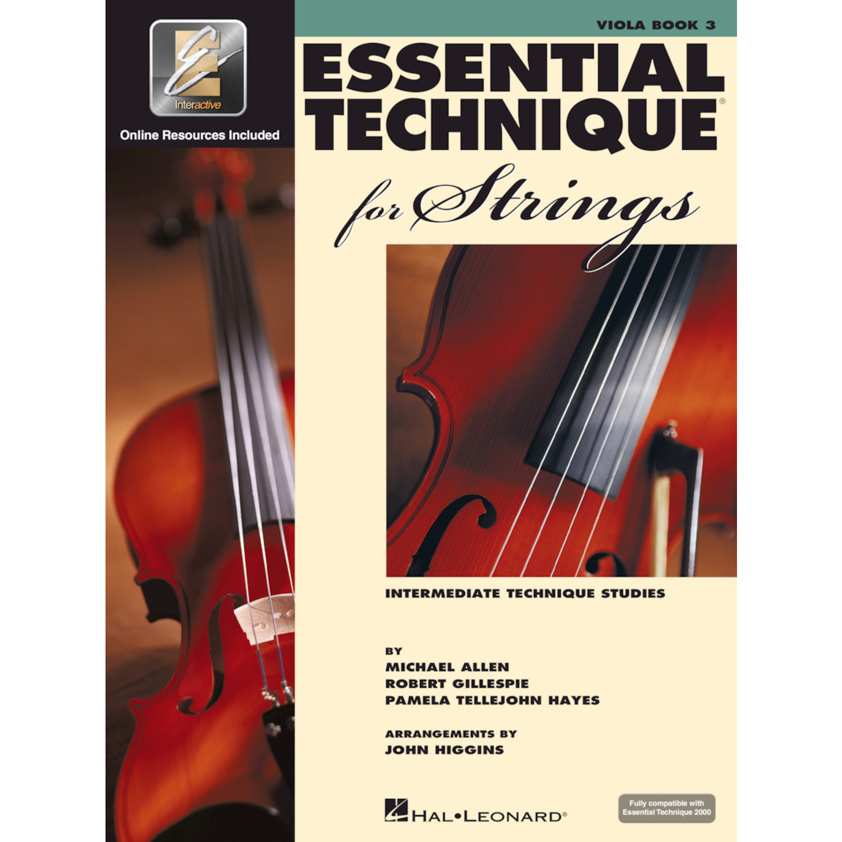 Hal Leonard Essential Technique for Strings Viola Book 3