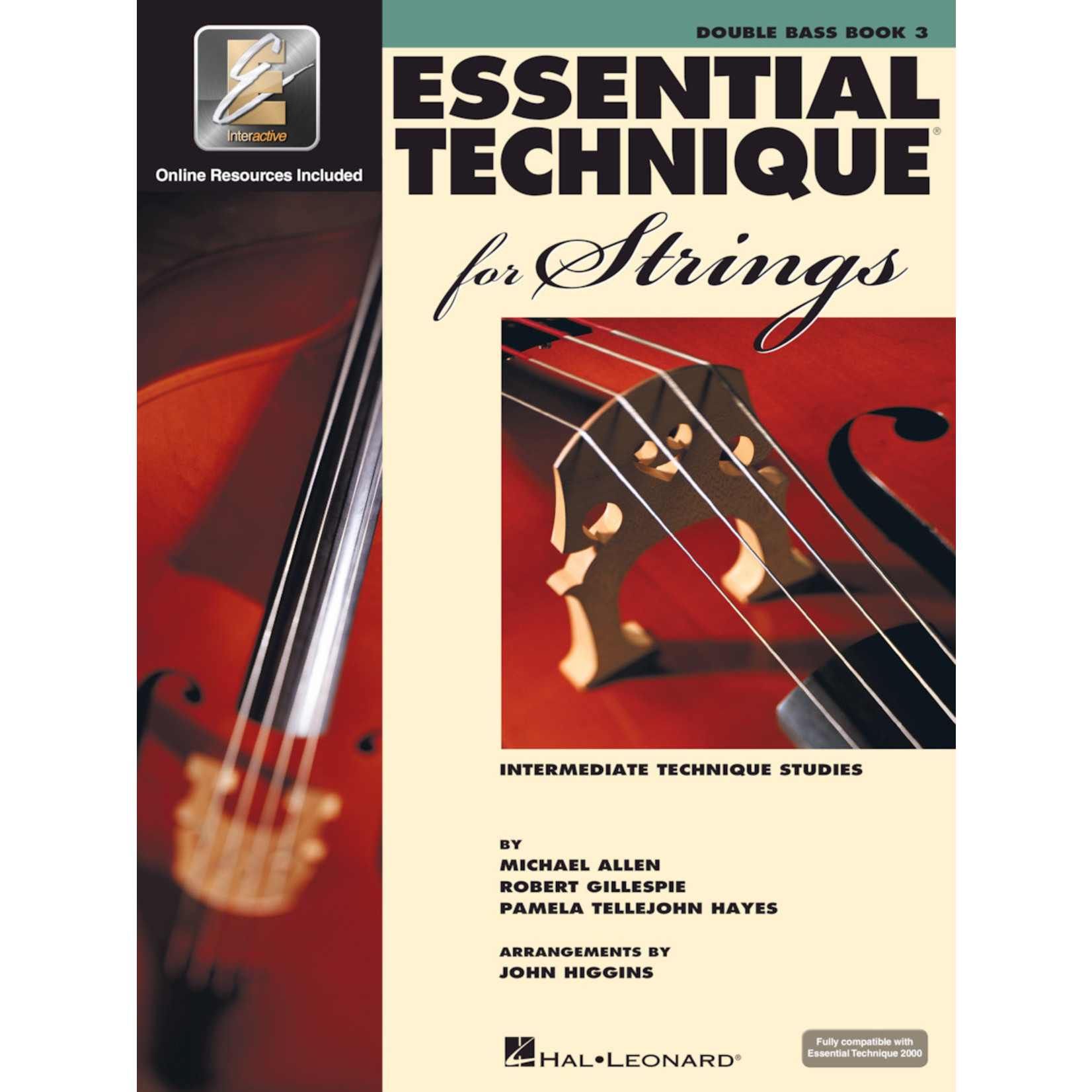 Hal Leonard Essential Technique for Strings Double Bass Book 3