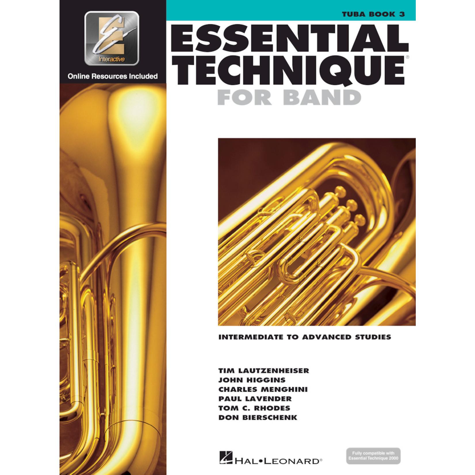 Hal Leonard Essential Technique for Band Tuba Book 3