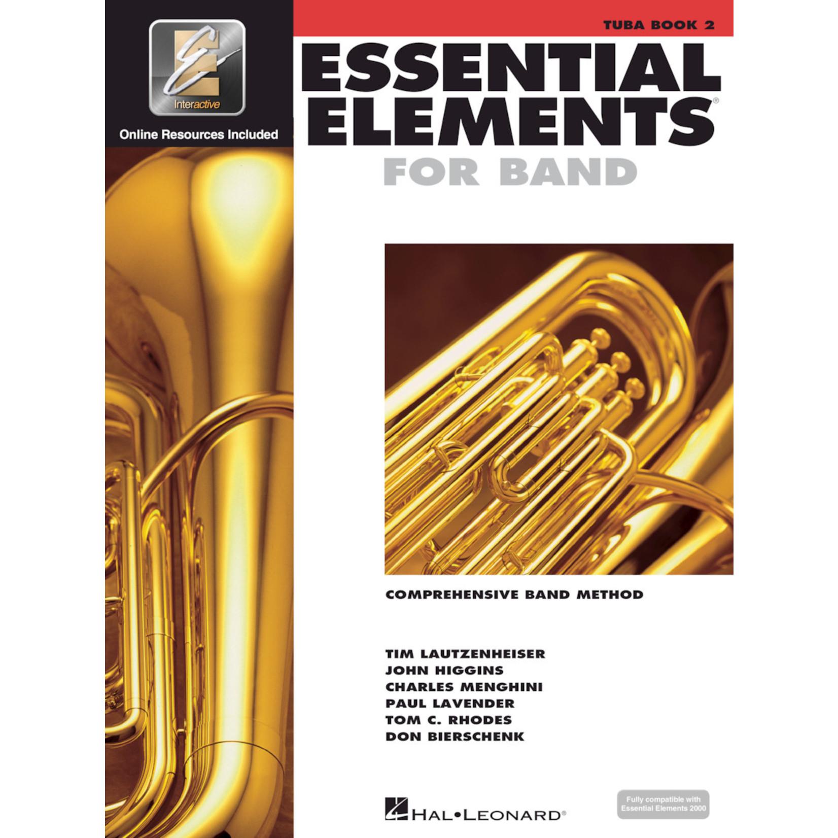 Hal Leonard Essential Elements for Band Tuba Book 2
