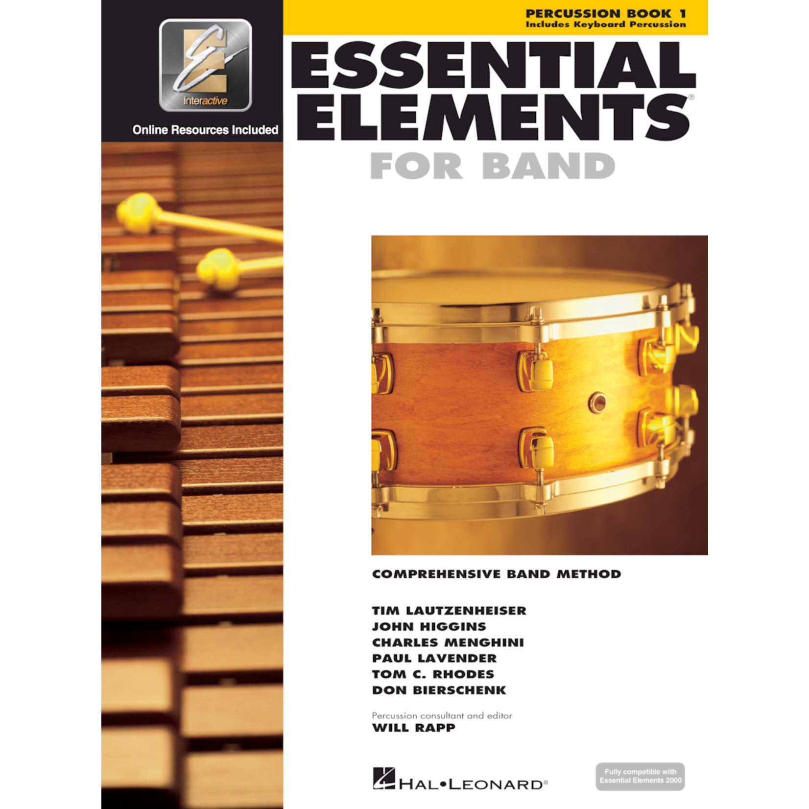 Hal Leonard Essential Elements for Band Percussion Book 1