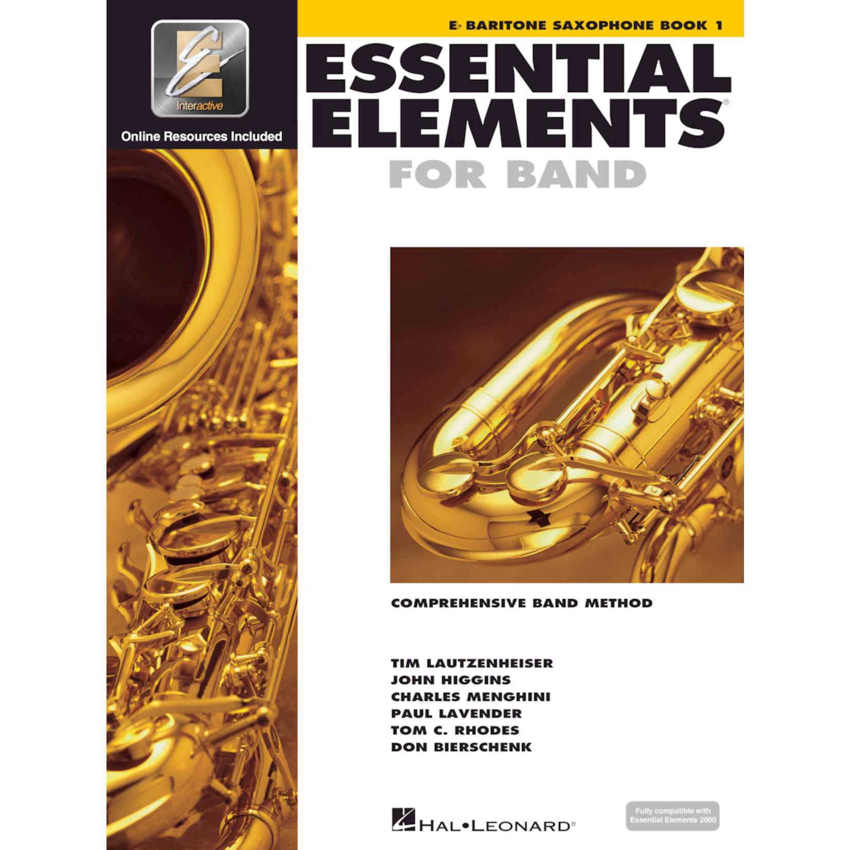 Hal Leonard Essential Elements for Band Baritone Saxophone Book 1